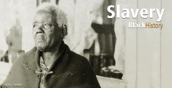 Sarah Gudger Photo. Slavery