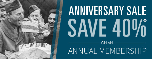 13th Anniversary Offer Annual Membership only $47.95