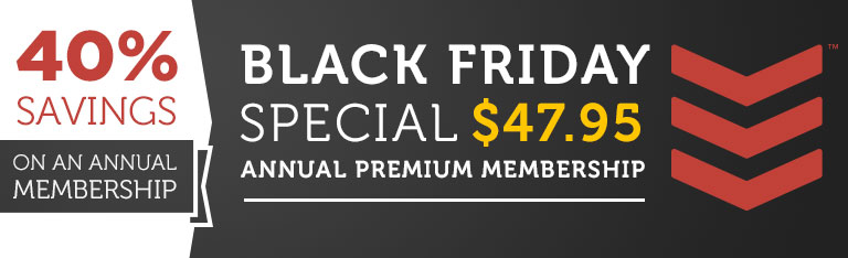 Black Friday Special Save 40%