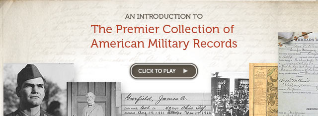 The Premier Collection of American Military Records