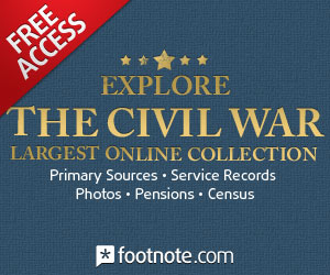 Free Civil War on Footnote.com