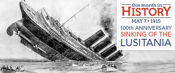 Image result for lusitania sunk