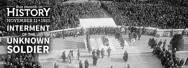 TMIH:Dedication of the Tomb of the Unknowns: November 11, 1921